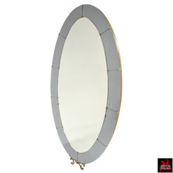 Crystal Arte Floor Wall Mirror
