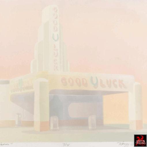 Good Luck Gas Station Art