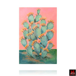 Pink Cactus II Painting