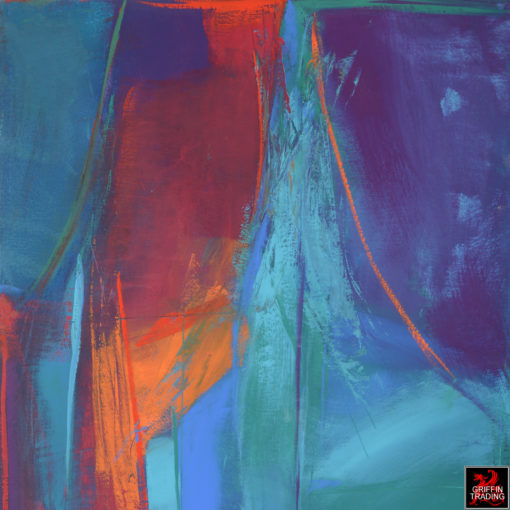 Roberta Marks Stage Fright Abstract Painting