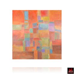 Urban Mosaic Abstract Painting